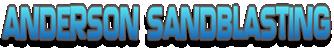 Anderson Sandblasting logo.