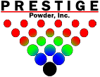 Prestige Powder Inc logo.
