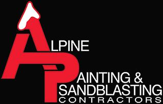 Alpine Painting & Sandblasting Contractors logo.